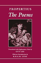 The poems of Propertius
