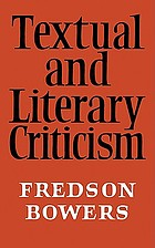 Textual & literary criticism