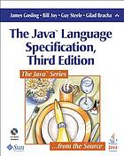 The Java language specification : Previous ed.: 2000