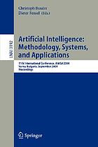 Artificial intelligence: methodology, systems, and applications : 11th international conference, AIMSA 2004, Varna, Bulgaria, September 2-4, 2004 : proceedings