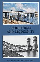 Modernism and modernity : the Vancouver conference papers