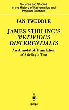 James Stirling's Methodus differentialis : an annotated translation of Stirling's text