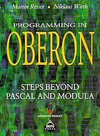 Programming in Oberon : steps beyond Pascal and Modula
