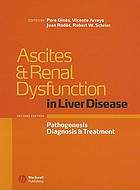 Ascites and renal dysfunction in liver disease : pathogenesis, diagnosis, and treatment