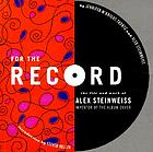For the record : the life and work of Alex Steinweiss