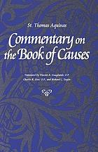 Commentary on the Book of causes