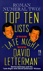 "Roman numeral two! : top ten lists from ""Late Night with David Letterman"""