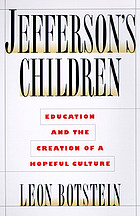 Jefferson's children : education and the promise of American culture