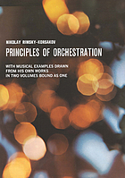 Principles of orchestration, with musical examples drawn from his own works