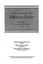 The papers of Jefferson Davis / January - September 1863