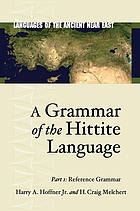 A grammar of the Hittite language
