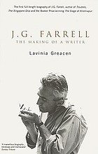J.G. Farrell : the making of a writer
