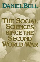The social sciences since the Second World War