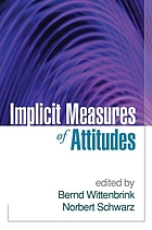 Implicit measures of attitudes