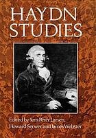 Haydn studies : proceedings of the International Haydn Conference, Washington, D.C., 1975