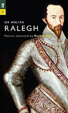 The poems of Sir Walter Ralegh