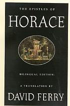 The epistles of Horace