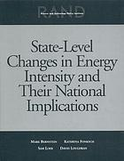 State level changes in energy intensity and their national implications