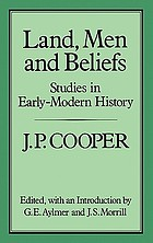 Land, men, and beliefs : studies in early-modern history