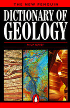 The new Penguin dictionary of geology