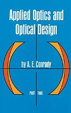 Applied optics and optical design