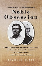 Noble obsession : Charles Goodyear, Thomas Hancock, and the race to unlock the greatest industrial secret of the nineteenth century