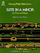 Suite, A minor, for flute and string orchestra