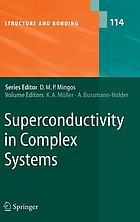 Superconductivity in complex systems