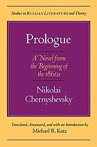 Prologue : a novel from the beginning of the 1860s