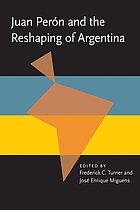 Juan Perón and the reshaping of Argentina