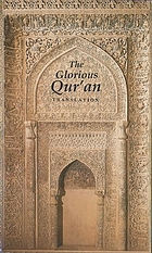 The glorious Qur'an : translation