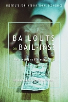 Bailouts or bail-ins? : responding to financial crises in emerging economies