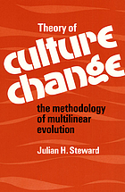 Theory of culture change; the methodology of multilinear evolution