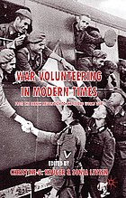 War volunteering in modern times : from the French Revolution to the Second World War