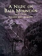 A night on Bald Mountain : fantasy for orchestra