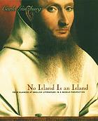 No island is an island : four glances at English literature in a world perspective