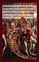 Selected poems of Thomas Hood, Winthrop Mackworth Praed, and Thomas Lovell Beddoes