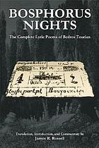 Bosphorus nights : the complete lyric poems of Bedros Tourian