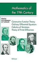 Mathematics of the 19th century : mathematical logic, algebra, number theory, probability theory