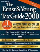 The Ernst & Young tax guide 2000