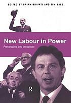 New labour in power : precedents and prospects