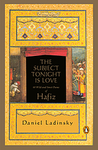 The subject tonight is love : 60 wild and sweet poems