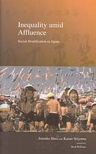 Inequality amid affluence : social stratification in Japan