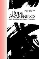 Rude awakenings : Zen, the Kyoto school, & the question of nationalism