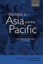 Elections in Asia and the Pacific : a data handbook. Vol. I, the Middle East, Central Asia and South Asia