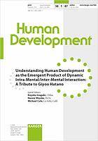 Understanding human development as the emergent product of dynamic intra-mental/Inter-Mental interaction : a tribute to Giyoo Hatano