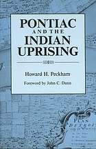 Pontiac and the Indian uprising