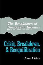 The Breakdown of democratic regimes
