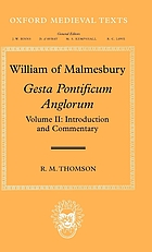 Gesta pontificum Anglorum = The history of the English bishops