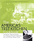 The America's test kitchen cookbook